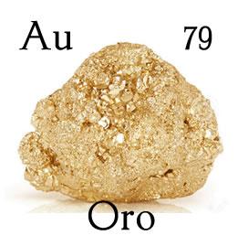 Oro, elemento químico