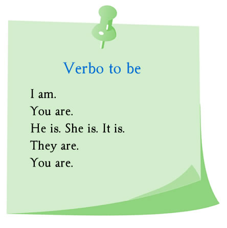 Ejemplos de verbo to be en inglés.