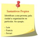 Sustantivos propios, Luis, Francia, Ferrari.