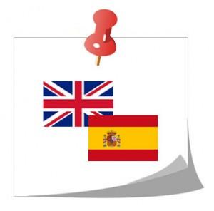 Bandera España e Inglaterra