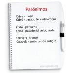 Ejemplos de parónimos