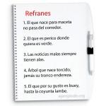 5 ejemplos de refranes