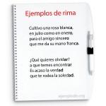 ejemplos de rima