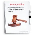 Normas jurídicas, martillo de juez