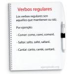Los verbos regulares en español